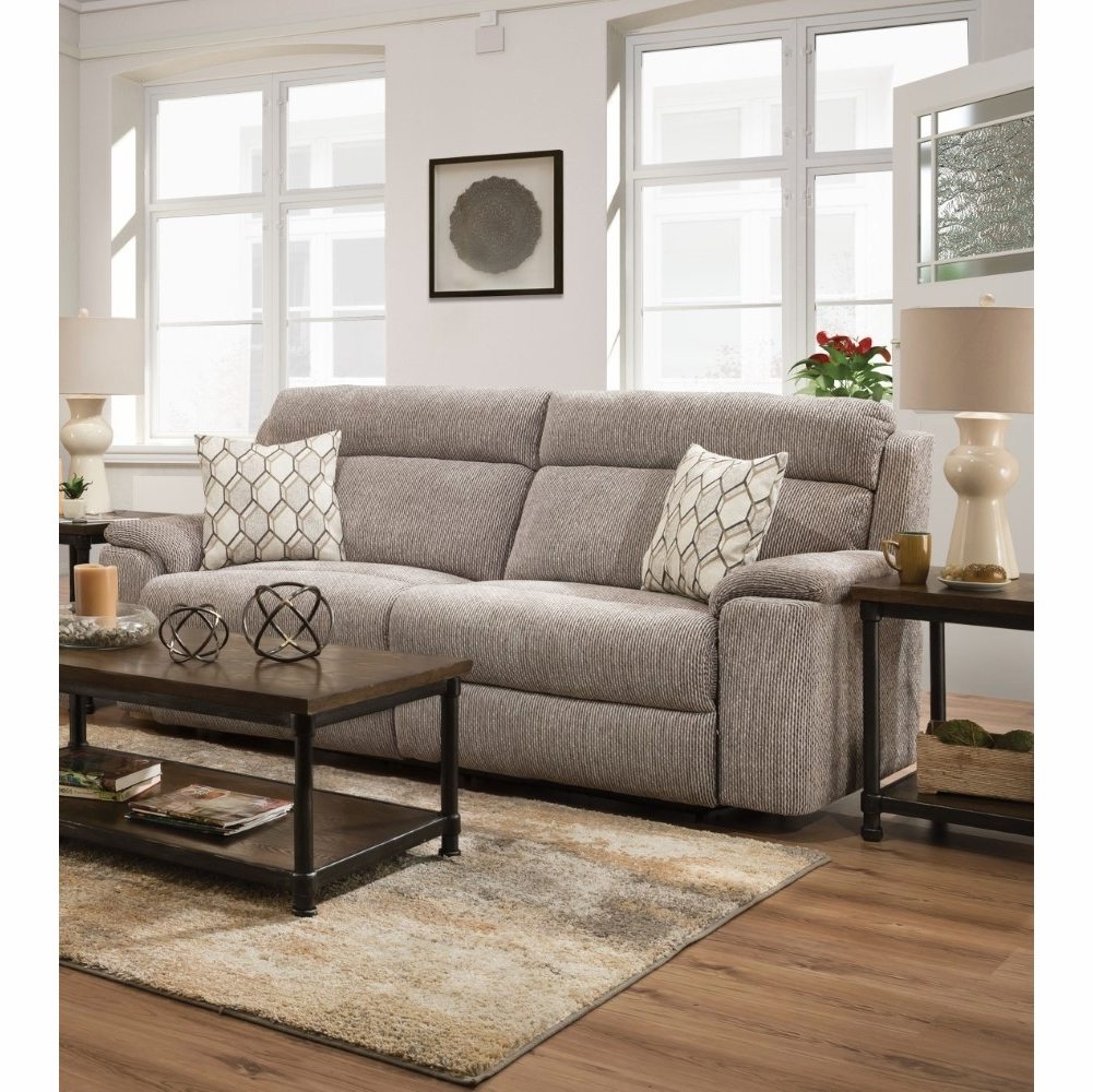 Lane Sofa Sets: EXTROVERT SILVER MOTION SOFA AND LOVESEAT